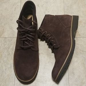 NEW Ugg Moreau Leather Laced Ankle Energ Boots